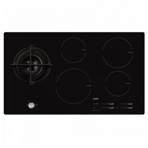 AEG inductie kookplaat met gaswok HD955100NB-0